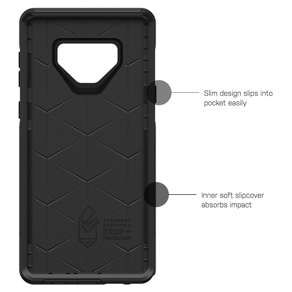 watch bad5e aba97 OtterBox Commuter Case for Samsung Galaxy Note 9 (Black)